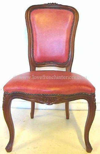 Louis High Back Dining Chair